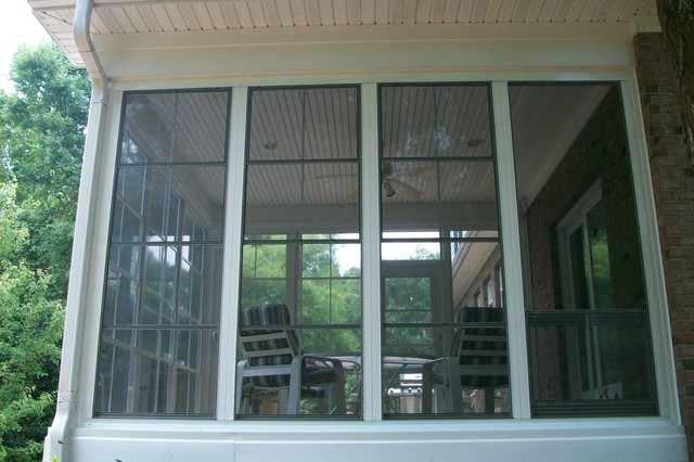 Lovely DIY EzeBreeze Windows And Doors   The Best Of A Screened In Porch And A  Sunroom