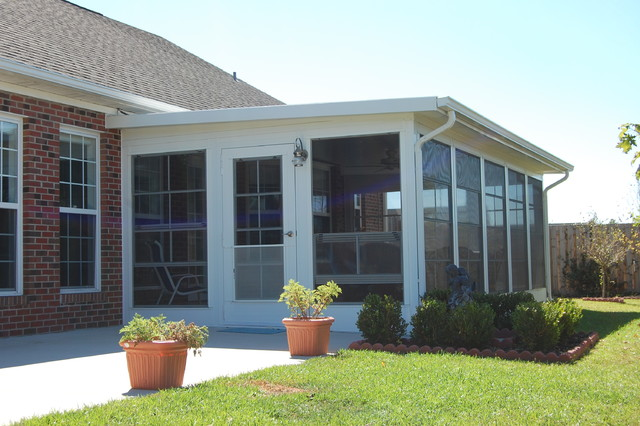 Diy ezebreeze windows and doors the best of a screened for Building a sunroom on a deck