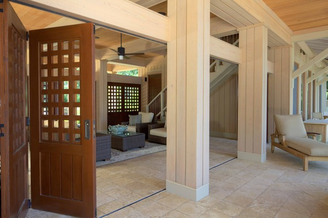 Dog Trot contemporary-porch