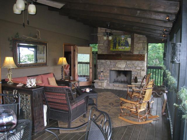 Karen N. Leverette eclectic-porch