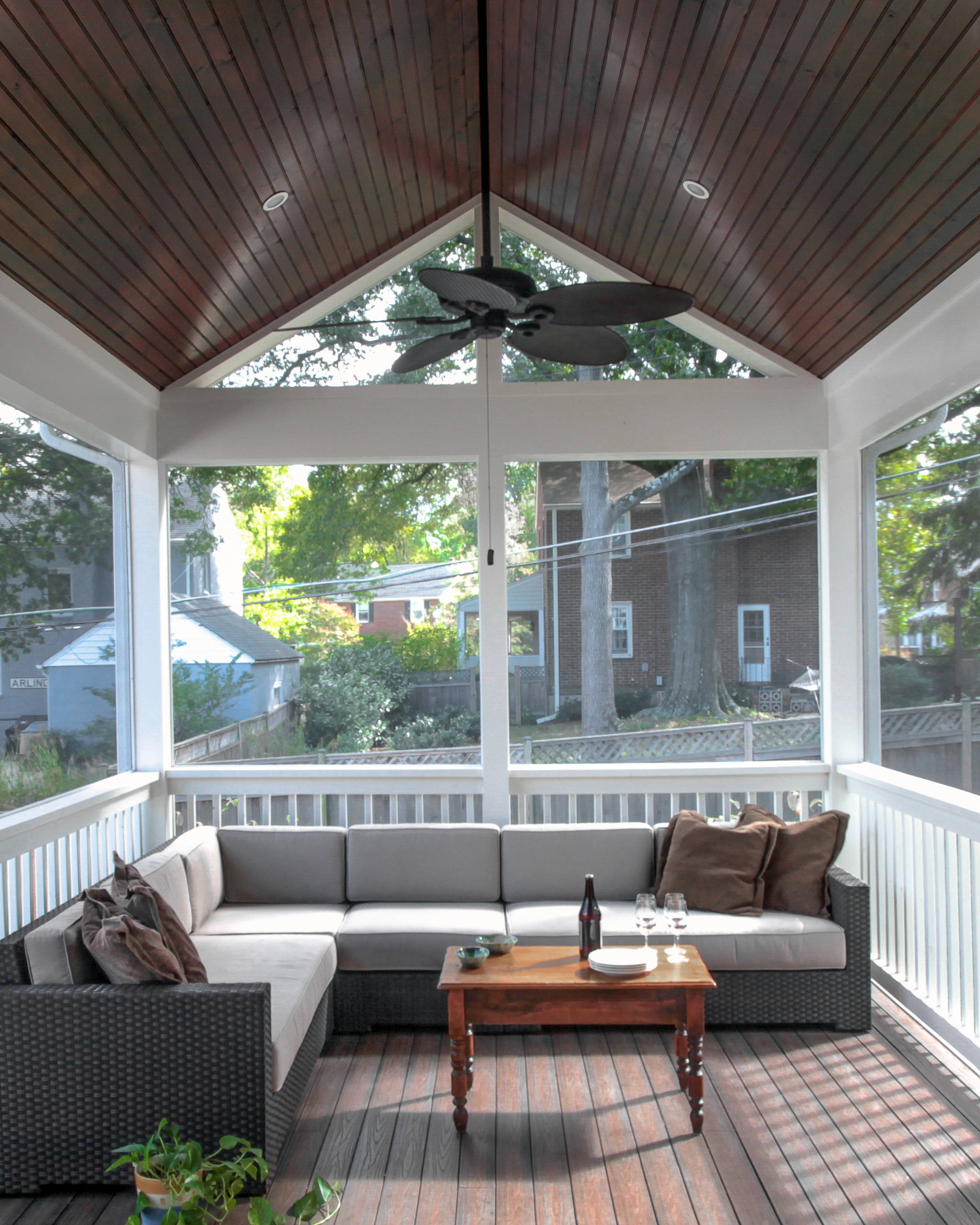 25 Beautiful Screened-In Porch Pictures & Ideas - September, 25