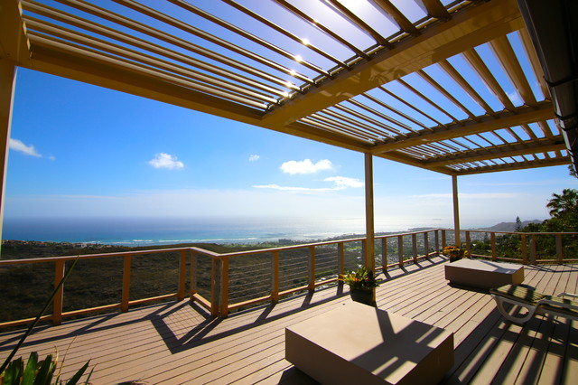 Charming EcoShade Louvered Roofs Contemporary Porch