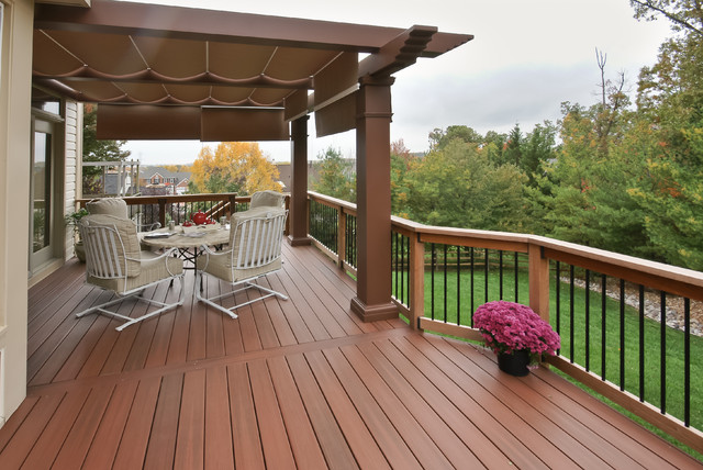 Ellicot City Fiberon deck traditional-porch