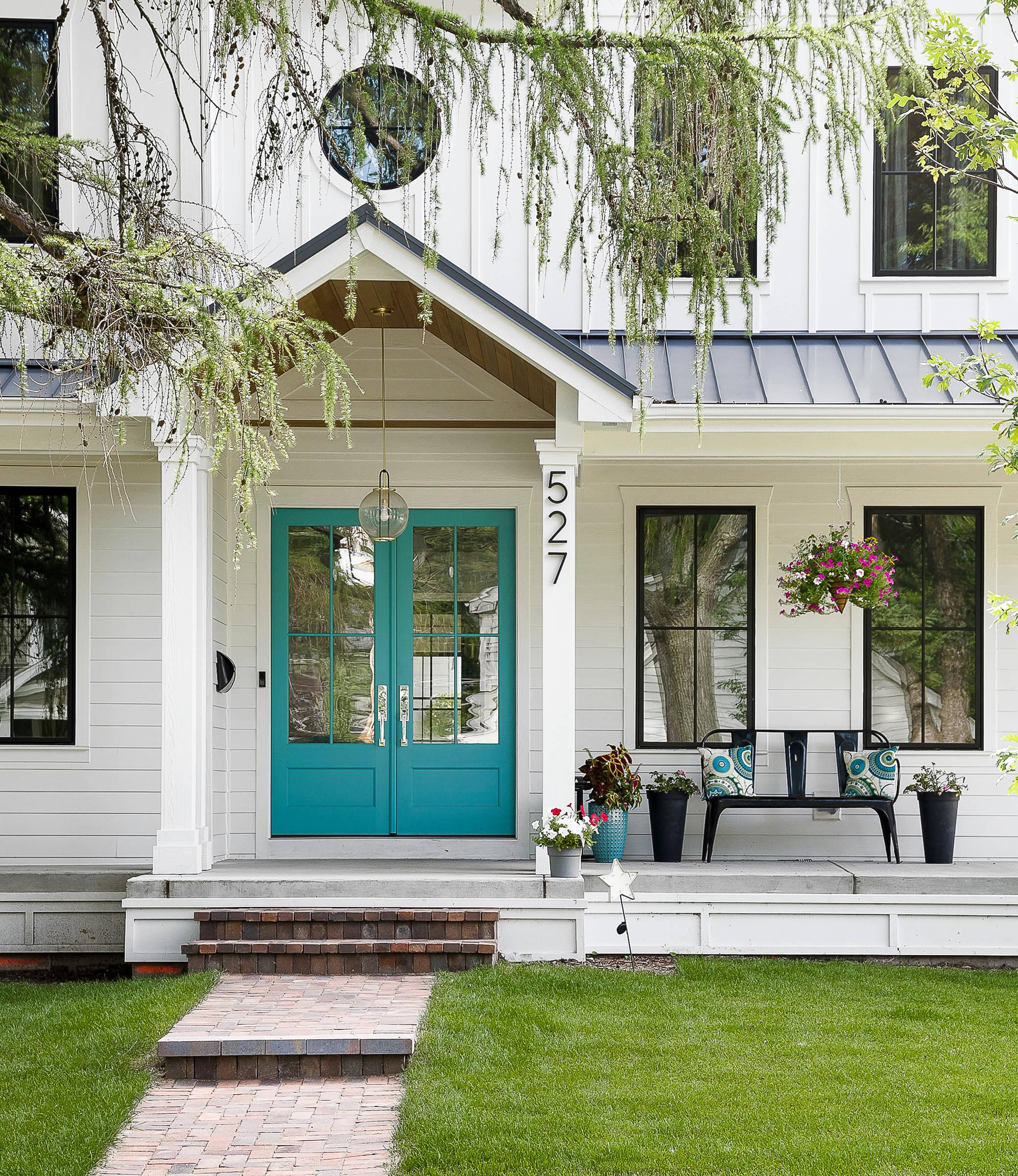 75 Beautiful Concrete Porch Pictures Ideas March 2021 Houzz