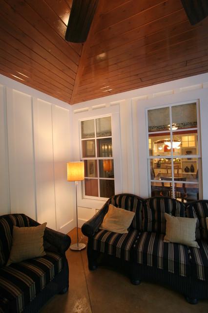 European Cottage Style contemporary-porch