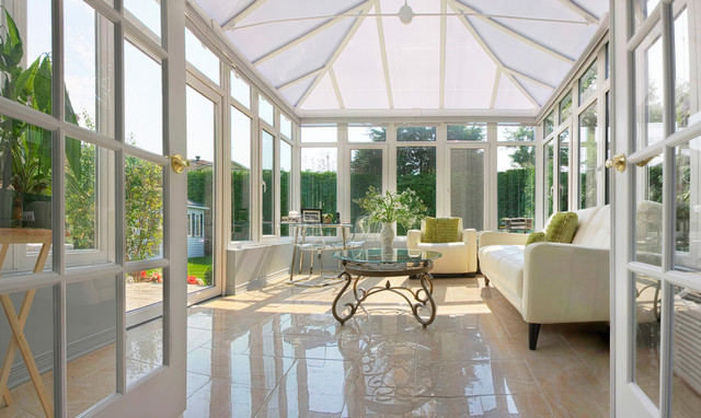 European Style Conservatory Contemporary Porch Other