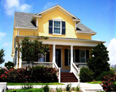 Evia on Galveston Island traditional porch