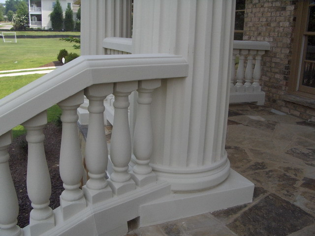 Exterior Architectural Cast Stone Traditional Porch Atlanta By Artistic Accents