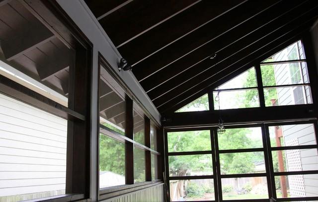 exterior lighting contemporary-porch