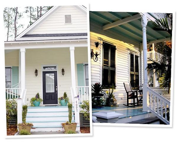 exterior paint colors traditional-porch