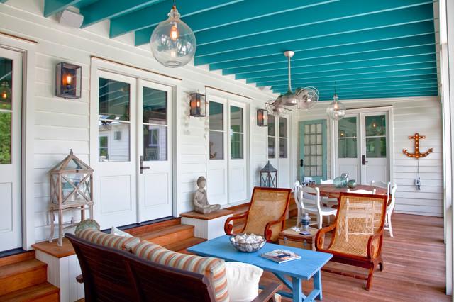 Exterior Photography Beach Style Porch Charleston
