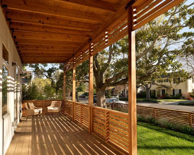 Exterior Views Modern Porch San Francisco By