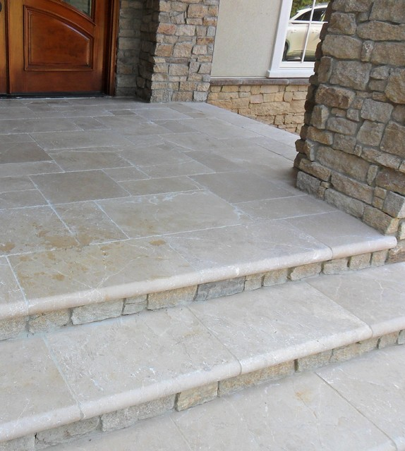 Exteriors Traditional Porch Richmond By Luck Stone