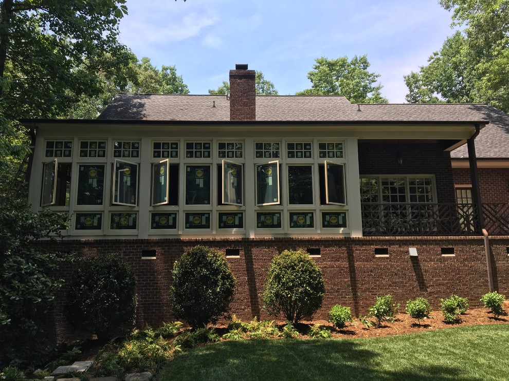 Inspiration for a timeless porch remodel in Other