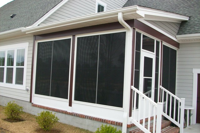 EzeBreeze Spaces - you can have best of a screened in porch and a sunroom in one porch