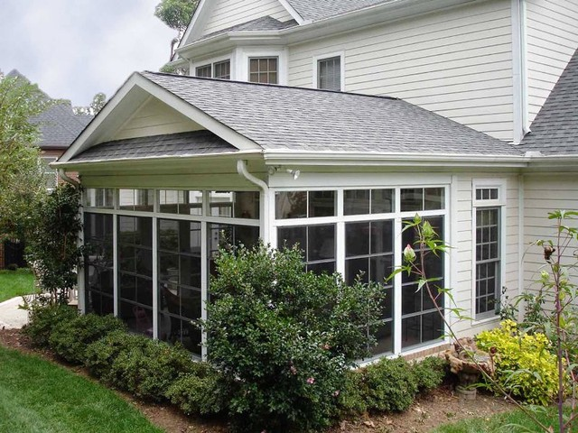 Ezebreeze spaces you can have best of a screened in for Screened in sunroom