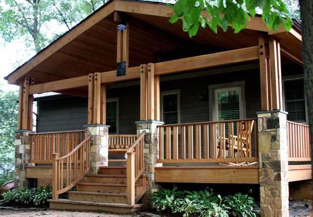 Fairfax Post Amp Beam Porch Traditional Verandah Dc