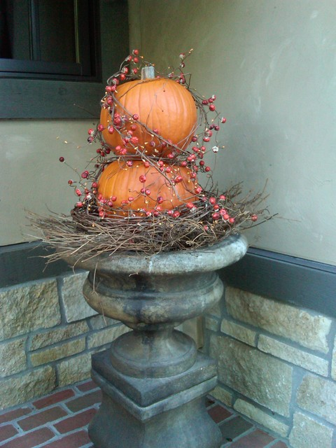 Fall Arrangements Eclectic Porch Kansas City