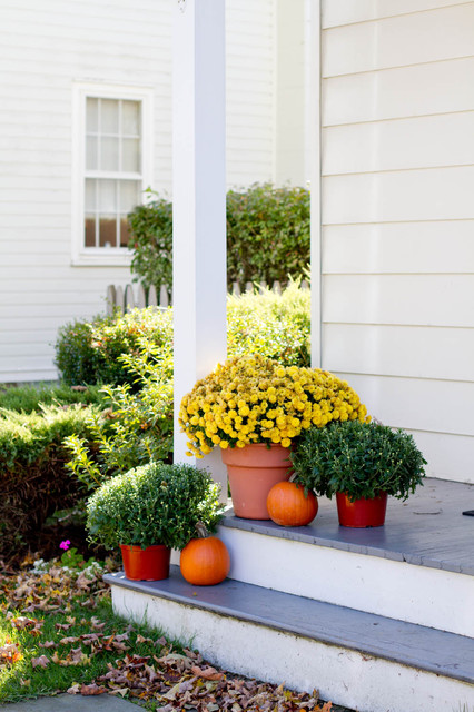 Fall Style traditional porch