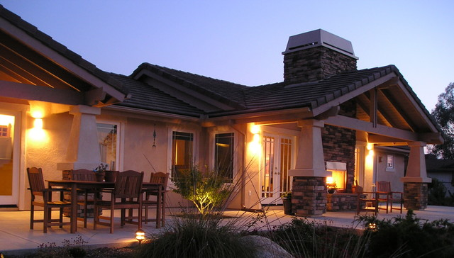 Fallbrook Residence traditional-exterior