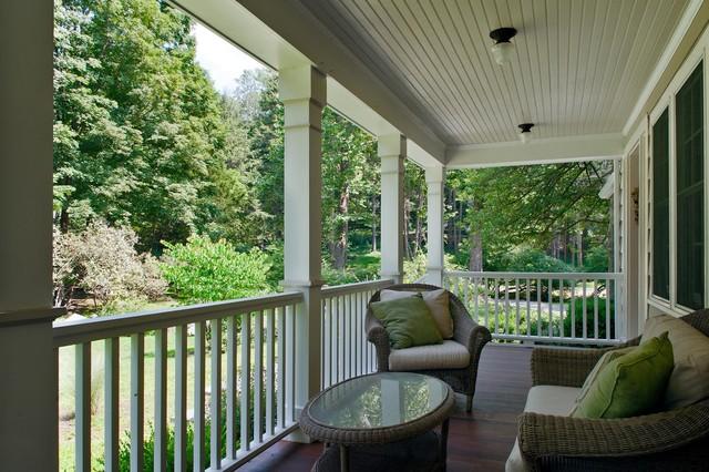 Family Friendly Farmhouse traditional-porch