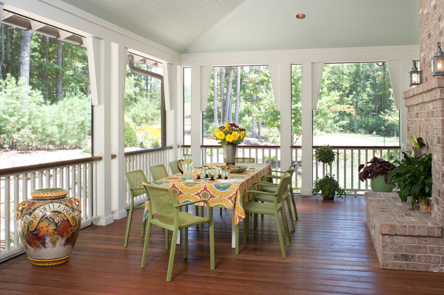 Family Home in The Ramble traditional-porch