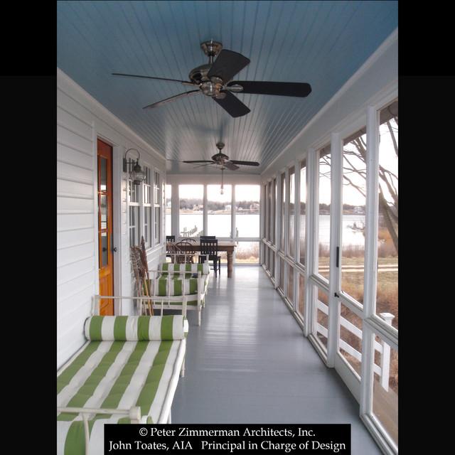 Farmhouse Addition and Renovation - Prince Frederick, MD farmhouse-porch