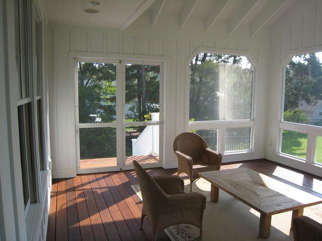 Screened Porch Ideas - an Ideabook by Karen Parham - KMP Interiors