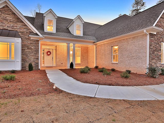 Fayetteville, GA New Construction traditional-porch