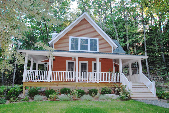 Finished Houses-Exteriors traditional-porch