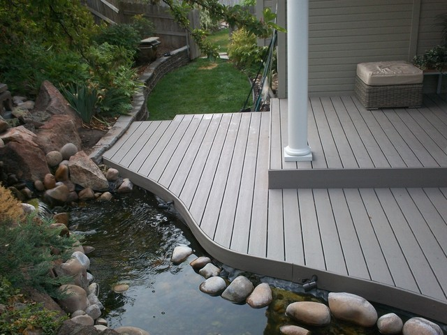 Fish Pond Deck Rebuild Contemporary Porch Boise By
