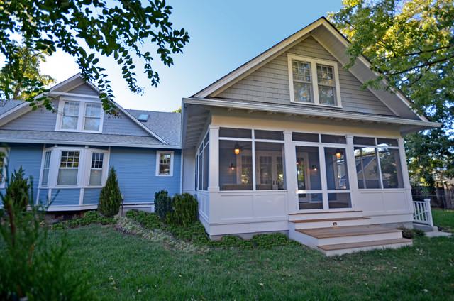 Five gable bungalow craftsman porch for Craftsman style gables