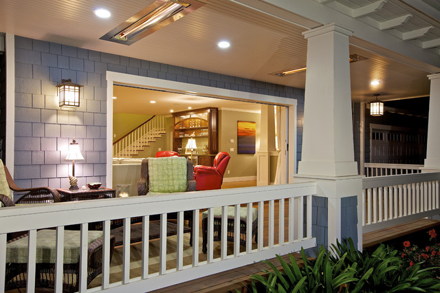 Flora Residence traditional-porch