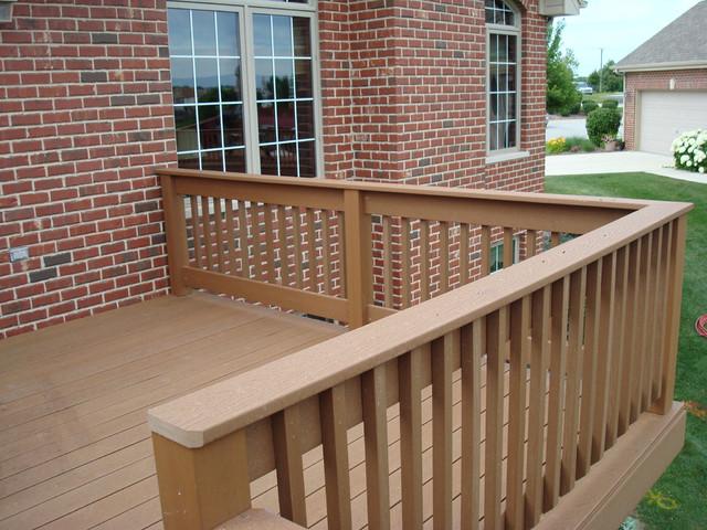 Frankfort Composite Deck traditional-porch