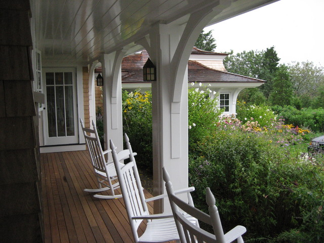 Cape cod shingle style victorian porch boston by for Cape cod porch