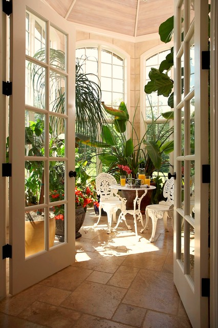 French Country Estate Traditional Porch Detroit By