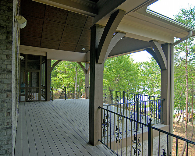 French Country Traditional Porch Charlotte By