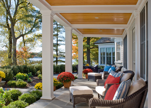 From Kids to Quiet traditional porch