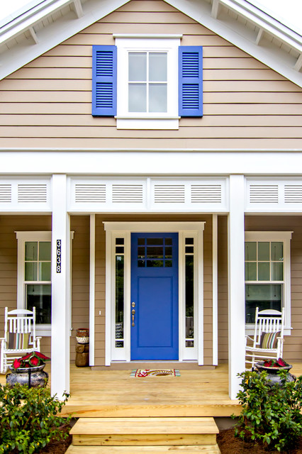 Front Doors - Beach Style - Porch - Jacksonville - by Glenn Layton Homes