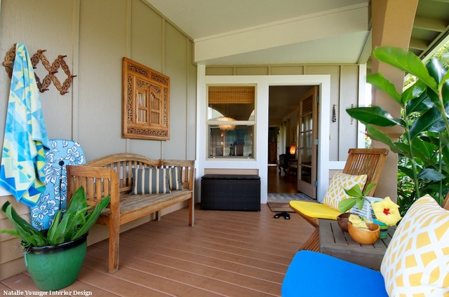 Front lanai porch los angeles by natalie younger for Lanai design
