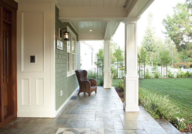 traditional porch by Arch Studio, Inc.
