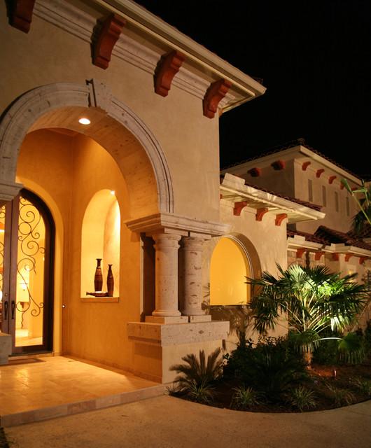 front porch mediterranean porch austin by asomoza