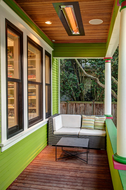 Front Porch Craftsman Porch Seattle By Board And