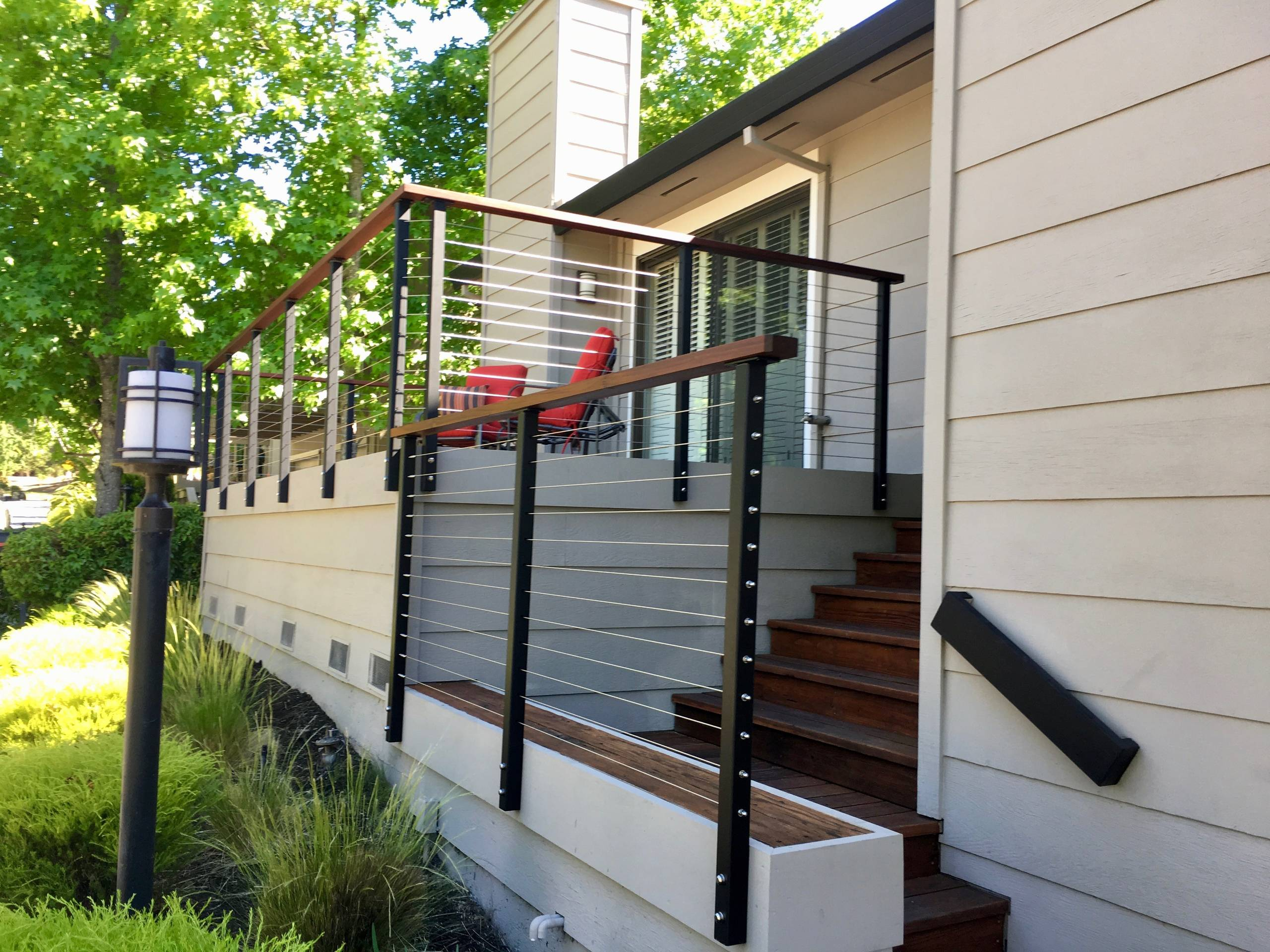 Modern Front Porch Railings Ideas & Photos  Houzz