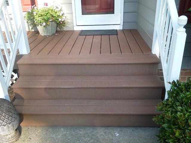 Front Porch Composite Deckingtraditional Richmond