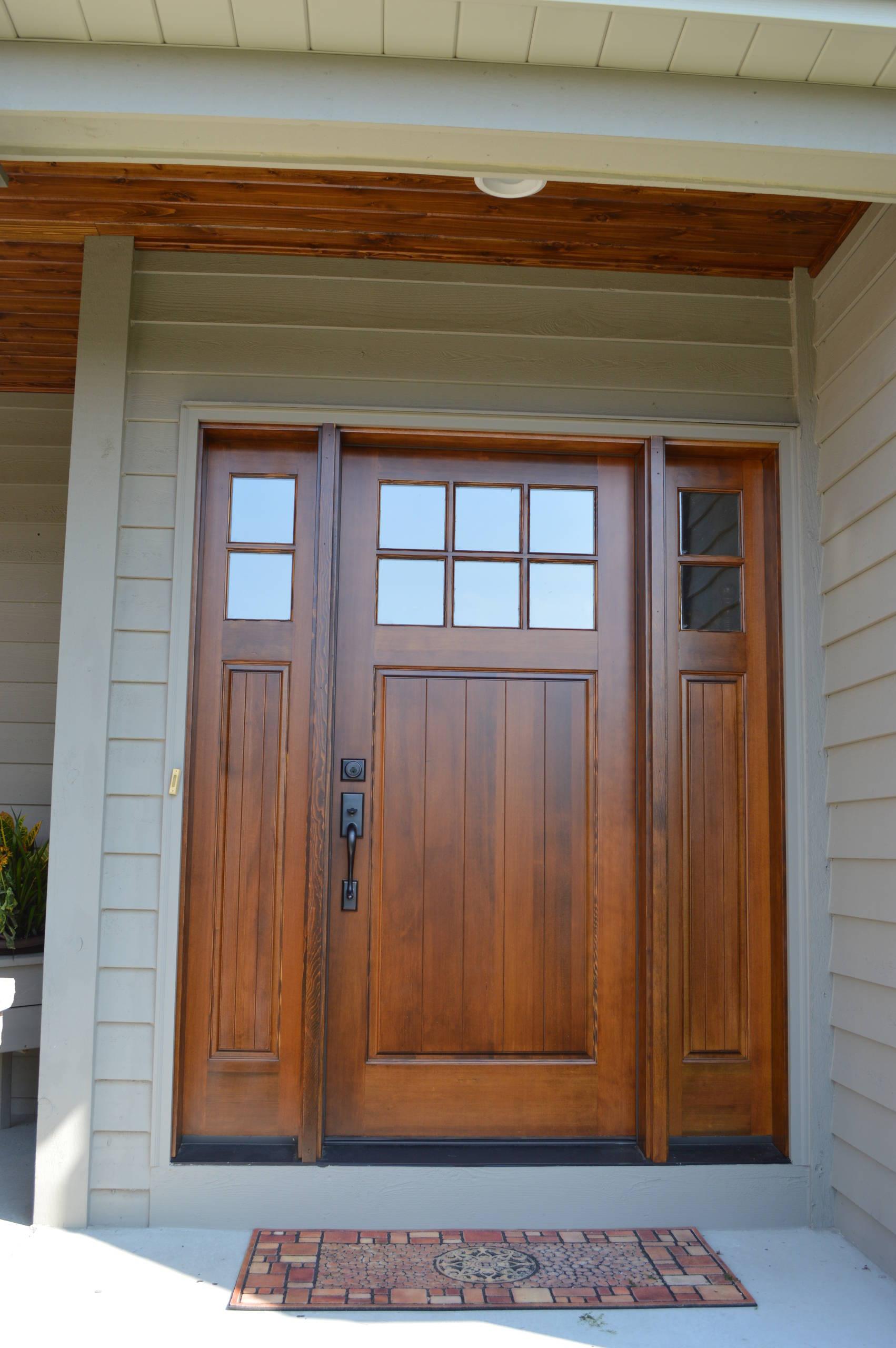 Douglas Fir Entry Door Houzz