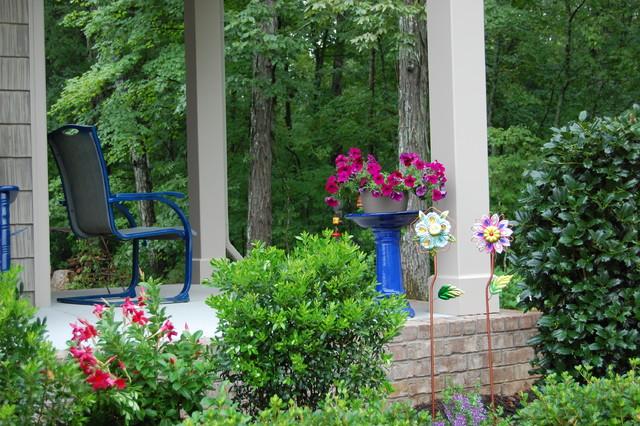 Front Porch Landscaping Ideas Farmhouse Porch Nashville By Front Porc