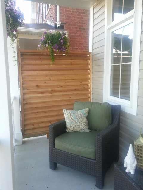 Front Porch Privacy Screencontemporary Toronto