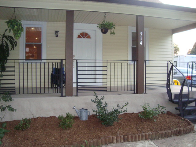 Front Porch Railings Contemporary Porch Other Metro