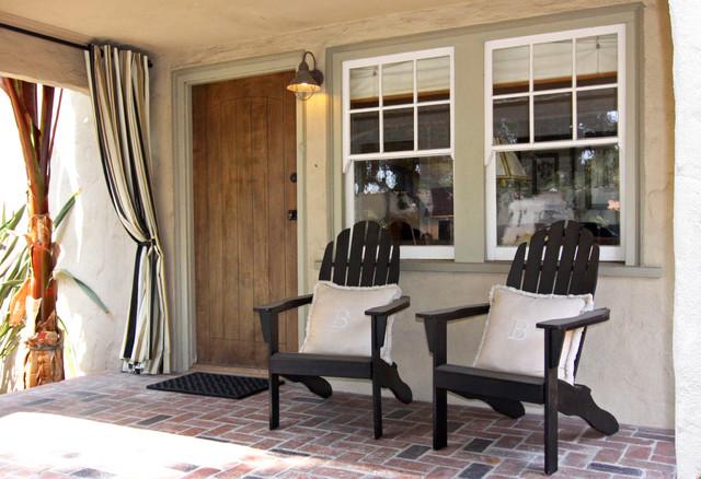 Front Porch Mediterranean Porch